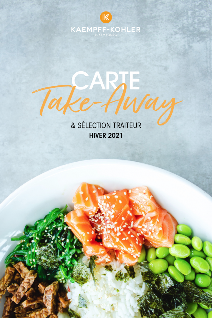 Carte Take Away Kaempff-Kohler hiver 2021